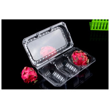 disposable plastic PET dragon fruit box