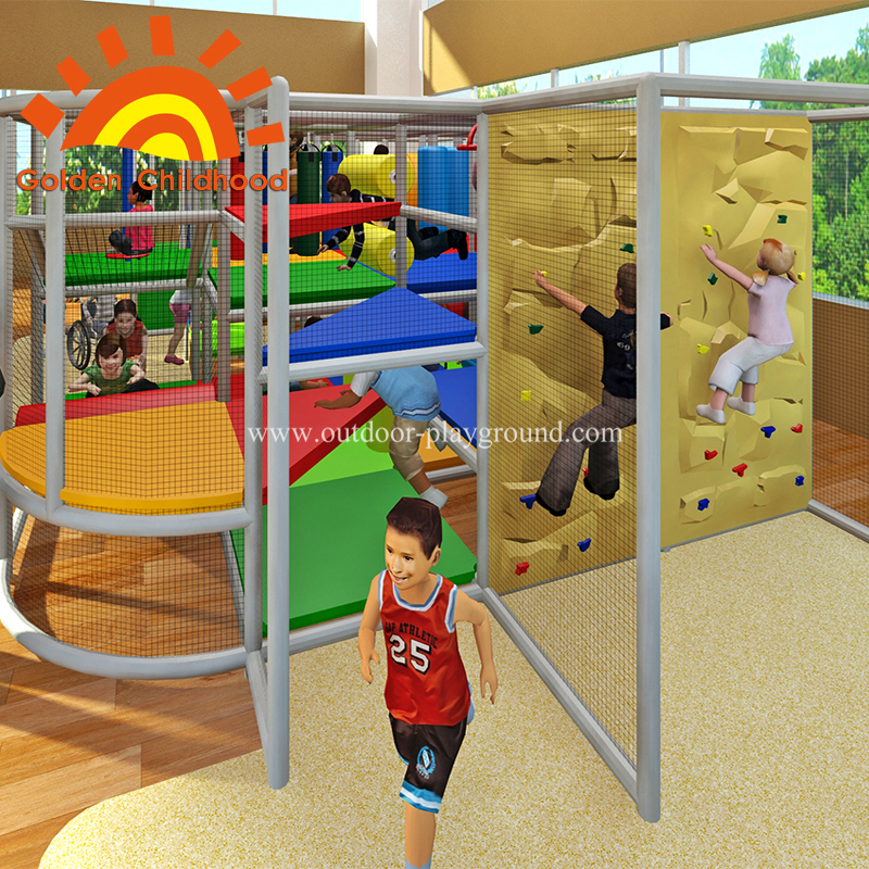 indoor backyard climbing structure