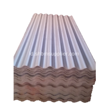 UV Blocking Anti-Aging Kekuatan Tinggi Mgo Roofing Sheet