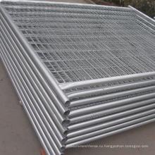 Гальванизированная временная конструкция забора для рынка Австралии / 6 футов*8 футов временный забор