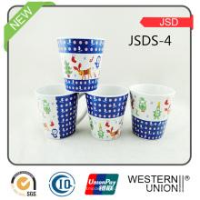 Vario diseño de encargo de la porcelana taza promocional del Cappuccino