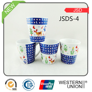 Various Design Custom Design Porcelain Promotional Cappuccino Cup Coffee Mug