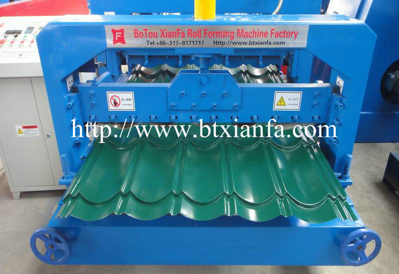 galvanized steel machine