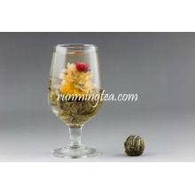 Shuang Long Xi Zhu (Double Dragon Perle Green Blooming) Blooming Tea EU STANDARD