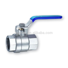 screwed stainless steel 2 pieces ball valves
