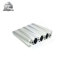 vários tamanho de anodização clara 6063 v-slot de extrusão de alumínio