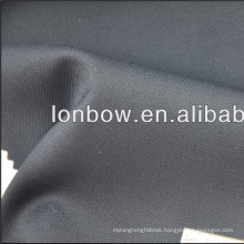 italian wool and polyester blended yarn dyed fabric with bird's eye style