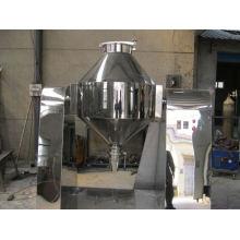 Misturador cônico duplo série W de 2017, misturadores de alimentos SS e liquidificadores, secadora horizontal a vácuo