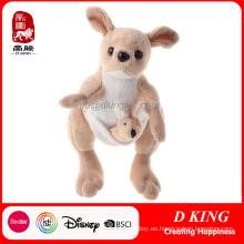 Madre y niños Peluche de canguro Soft Stuffed Animals