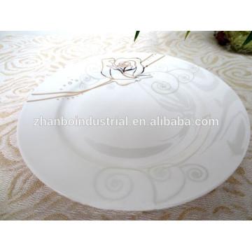 Nueva placa china de hueso, placa plana de China de hueso