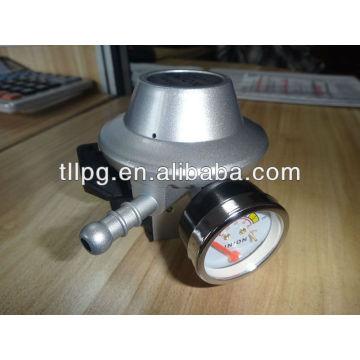 Redução da pressão com o regulador do cilindro de gás do metro lpg para a Nigéria