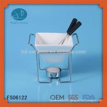 Fashionable style modern kitchen designs cookware fondue set