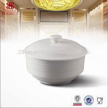 hotel & restaurant crockery tableware soup tureen with cover