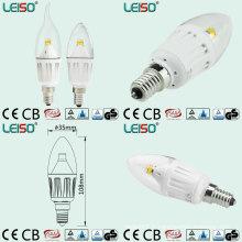 Lampe à chandelle à DEL Chip Scob à 3 degrés 4W (LS-B304-CWWD / CWD)