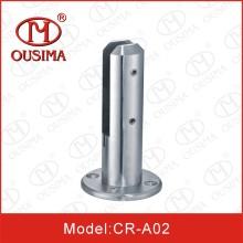 Стеклянный зажим из нержавеющей стали и стеклянная цапфа (CR-A02)