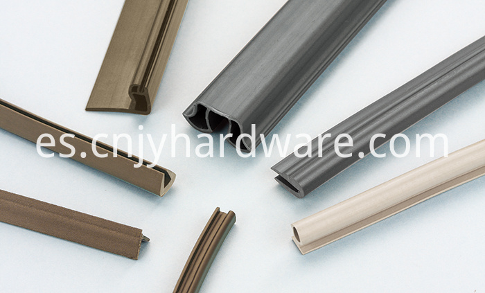 Various degree shower door side seal