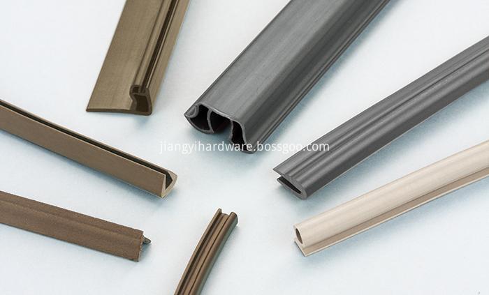 BlackMagnet shower PVC door rubber seal
