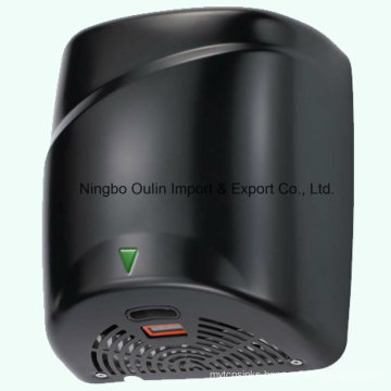 1800W Auto Hand Dryer High Speed 90m/S,Stainless Steel Durable Quick Installation