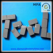 Segmentos de diamante para granito de mármol