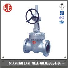 Metal seated gate valve