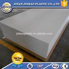 Tablero de alta densidad blanco de la espuma del EPS de la fuente superior de la fabricación de China