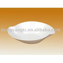 Fábrica direta atacado 10 Polegada tigela de sopa de porcelana