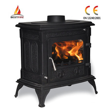 Freestanding Multifuel Cast Iron Burner