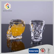 Coupe de verre de 50 ML Crystal Skull Head Shot
