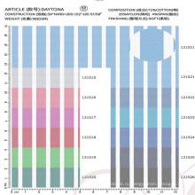 высокое качество хлопок нейлон спандекс ткань для рубашки