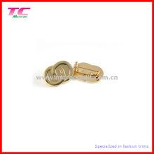 El oro brillante de encargo plateó la insignia del Pin