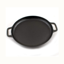 Cast Iron Pizza Pan for BBQ Camping