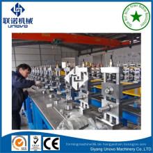 Photovoltaik-Solar-Struktur Stahl Hut Abschnitt Walze Formmaschine