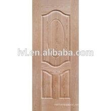 Natural teak HDF moulded door skin