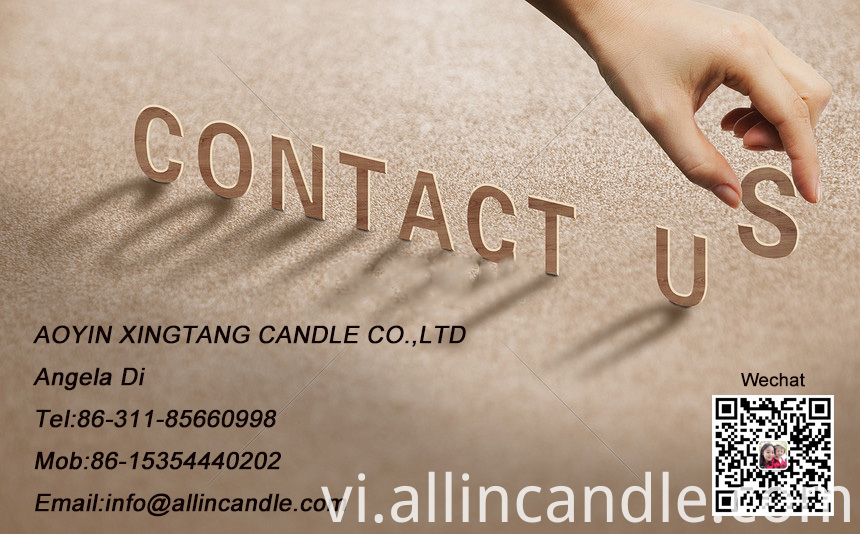 candle contact