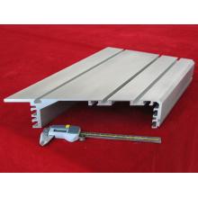 Peça de extrusão de perfil de alumínio personalizado de precisão
