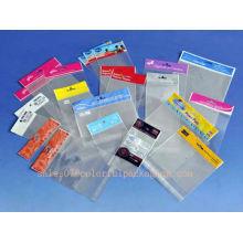 embalagem de smartphone / fone de ouvido / embalagem de celofane / sacos de polietileno personalizados