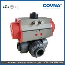 Китай оптовый PVC / CPVC / PP / PVDF / UPVC пластичный 3-ходовой шаровой кран для очистки воды