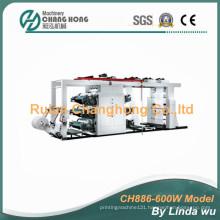 Six Color PP Woven Bag Flexo Printing Machine (CH886-600W)