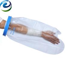 Protectores de cubierta de brazo de vendaje de herida impermeable de sello de silicona elástico