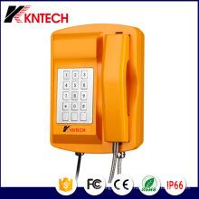 Сверхмощный Телефон погода доказательство IP66 Knsp-18 металлических Kntech клавиатуры
