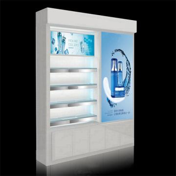 Customized MDF Wholesale Cosmetics Display
