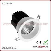 Ventas calientes 8W COB LED Down Light para Hotel LC7715n