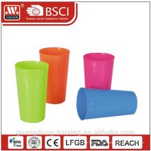 Красочные пищи класса 640 мл пластиковых стаканчиков стакан