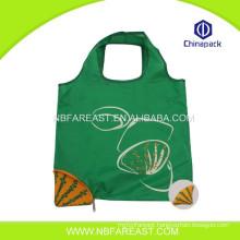 Fashionable Shape Reusable High Quality Shopping Nylon Foldable Bag