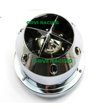 3in Chromed Auto Car Air Filter Universal for Air Intake Pipe