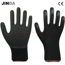 Latex Coated Nylon Shell Safety Gloves (LS218)