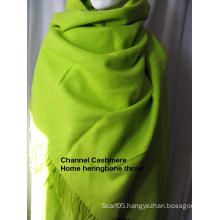 Cashmere Home Throw Heringbone