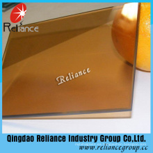 Cristal reflectante de bronce dorado de 5,5 mm con certificado CE