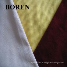 6 Wales 100% algodão orgânico tecido de veludo de algodão