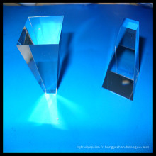 Fabrication Prisme de cône en verre optique, Square Round Rectangular